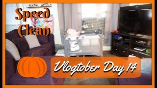 🎃Speed Clean With Me 2018 | Vlogtober Day 14 | Zen Chini Vlogs