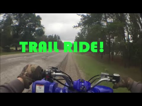 Raptor 660 and Mojave Trail Riding In Northern Michigan