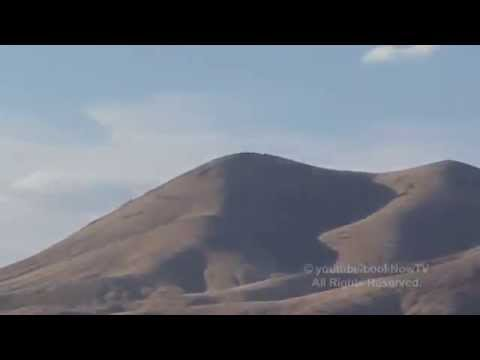 UFO IN NEVADA CHASED BY A LOCKHEED F-117 NIGHTHAWK MILITARY JET JULY 2014