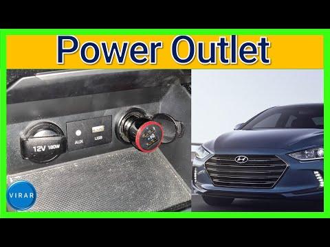 How to Fix 12V Power Outlet/Cigarette Lighter – Hyundai Elantra (2017-2018)