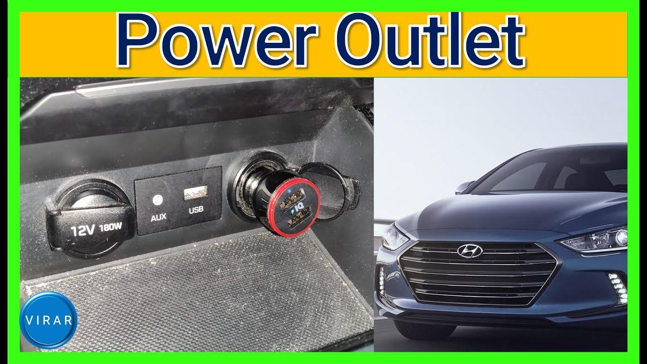 Hyundai Sonata 12v Power Outlets Not Working