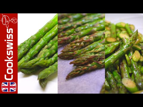 asparagus sauce   2 ways