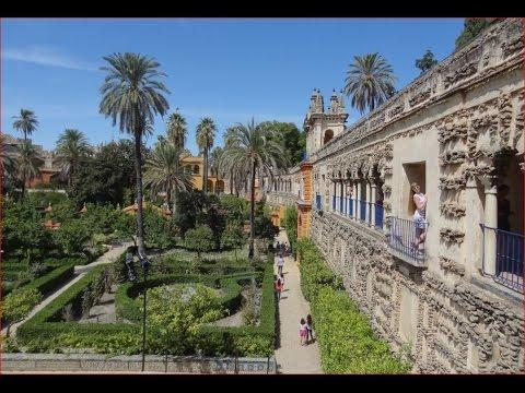 Spain Alcazar,  Royal Palace in Seville, So Beautiful!