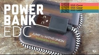 Review: Native Union JUMP Cables Battery Charger / Powerbank + Sync Cable for Smartphones