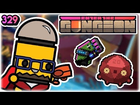 Insanity Engine | Part 329 | Let's Play: Enter the Gungeon: Challenge Mode | Gameplay