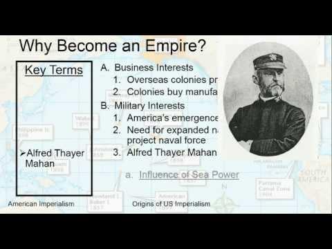 American Imperialism - Origins
