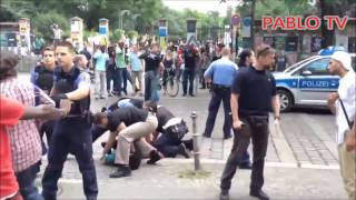 Polizei Schlägt Passanten - Polizei schlägt zu - Polizeigewalt in Deutschland - Police Attack