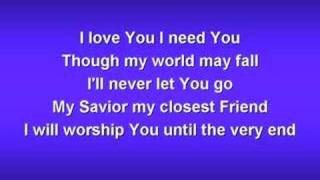 Jesus Lover of My Soul (worship video w/ lyrics)