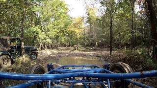 Buggy ride Land Between the Lakes Turkey Bay Oct. 2013