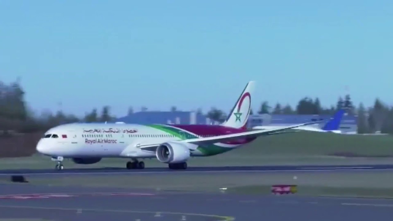 VIDEO: Royal Air Maroc receives first 787-9 | News | Flight Global