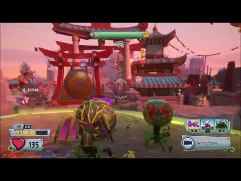 Plants vs Zombies: Garden Warfare 2 | Serve and Volley Event | Chomp Thing