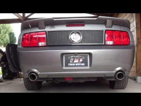 Mustang GT 2006 flowmaster