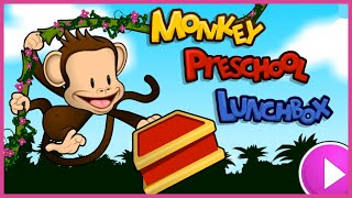 Monkey Preschool Lunchbox Gameplay Compilation #1