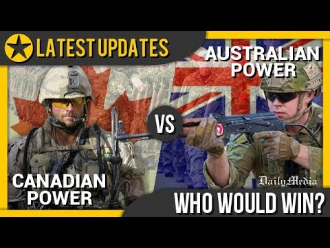Canada Vs Australia - Military Power Comparison 2018 (Latest Updates)