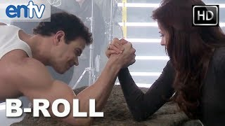 twilight breaking dawn part 2 b roll clip hd behind the scenes with edward bella