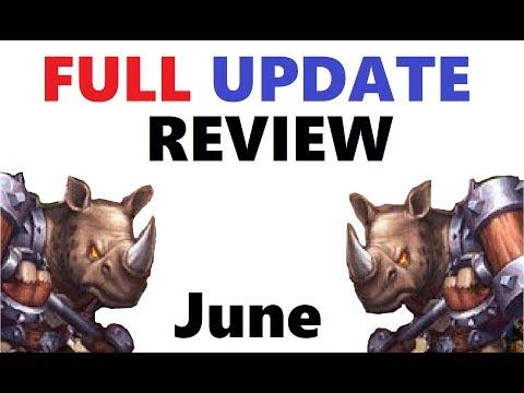 FULL Update Review: June New Hero Pet Rockno Gameplay Castle Clash