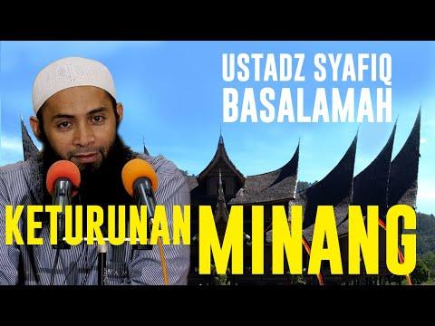 Ternyata Ustadz Syafiq Basalamah Keturunan Minang