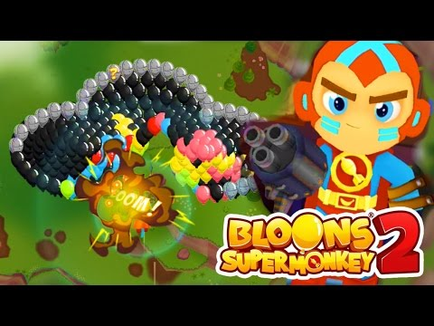 MASSIVE BOSS LEAD BLOON CLOUD...!!! - Bloons Supermonkey 2 Gameplay Part 2