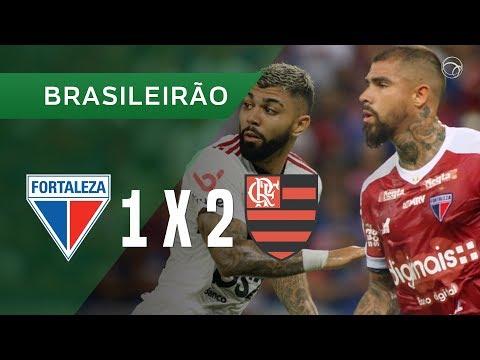 FORTALEZA 1 X 2 FLAMENGO - GOLS - 16/10 - BRASILEIRÃO 2019