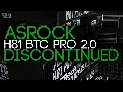 Asrock H81 BTC Pro Motherboards Discontinued!