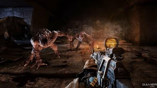 Metro:2033 PS4 gameplay
