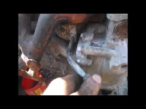 Saturn Vue 2 2 Ecotec Engine Block Heater Removal Youtube