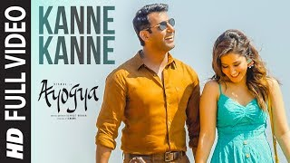 Kanne Kanne Full Video Song  Ayogya  Anirudh Ravichander  Vishal Raashi Khanna  Sam CS