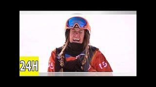 Jo d'hiver en direct : la françaisejulia pereira médaille d'argenten snowboardcross