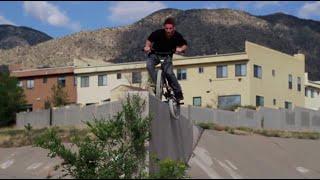 DAFUQ? Crazy BMX Feeble Grind to 360!