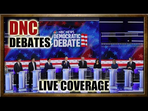 In Time: DNC Debates, Live Coverage