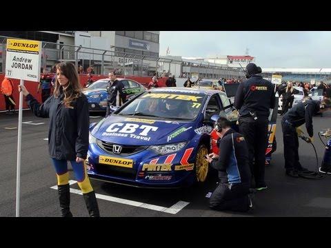 Team Pirtek, BTCC Silverstone w/ ANDREW JORDAN and JEFF SMITH (promo) BOPFLIX