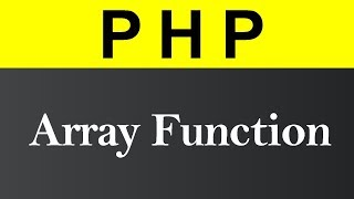 Create Array using Array Function in PHP (Hindi)