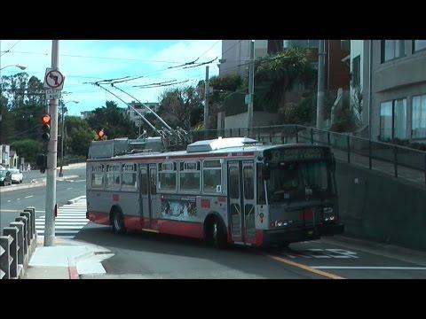 San Francisco SFMTA Trolleybus Route 33