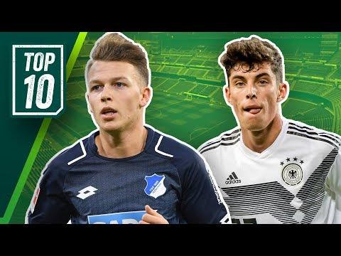 Die größten U20 Talente Deutschlands! Top 10 Youngsters feat. Havertz, Arp & Geiger