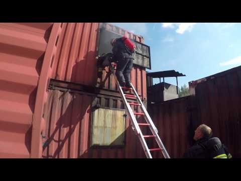 2016 IFRT Ground Ladder Rescue Demo