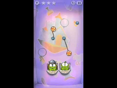 Cut The Rope Time Travel Level 1-6 Walkthrough | The Middle Ages Level 1-6 Walkthrough