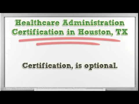 Healthcare Administration Degree in Houston TX