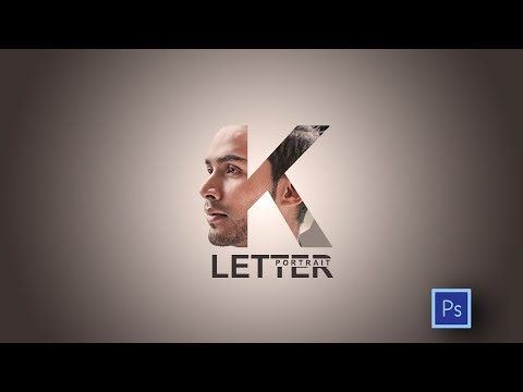 Photoshop Tutorial - How to Create Letter PORTRAITS thumbnail