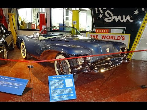 1954 Buick Wildcat II Concept Car at The Sloan Museum on My Car Story with Lou Costabile