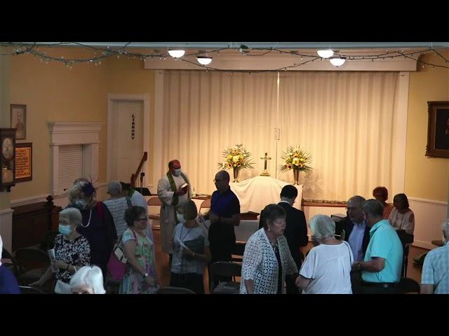 St. John's service August 22, 2021