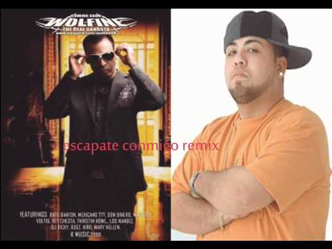 Escapate Conmigo (Remix) - Wolfine Ft Ñejo (original) (Prod. By Chris Jeday)