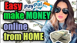 Easy make money online from home right now