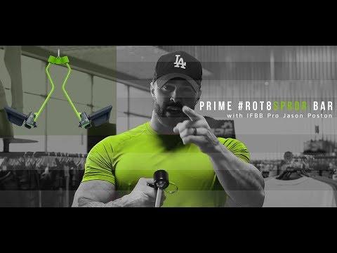 NEW PRIME RO-T8 Spreader Bar w/ IFBB Pro Jason Poston