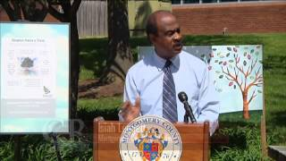 Crtw: County Executive Leggett Plants A Tree On Arbor Day