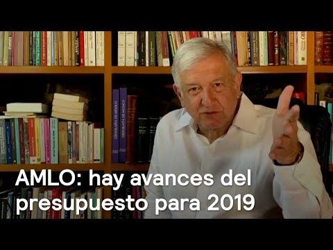 AMLO habla del presupuesto para 2019 - Noticias con Karla Iberia