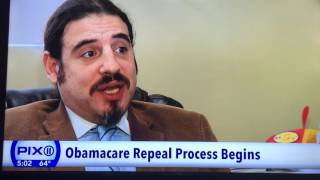 PIX Ch 11 NY Obamacare Expert Jason Samel discusses Obamacare repeal and replace