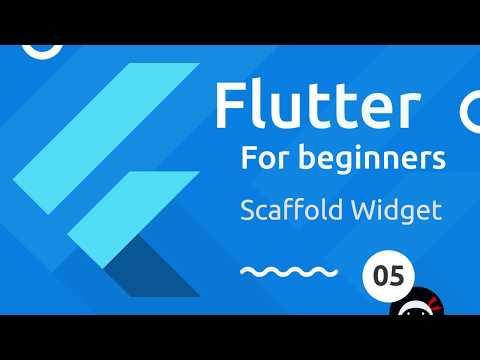 Flutter Tutorial for Beginners #5 - Scaffold & AppBar Widgets