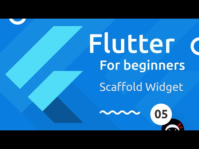 Flutter Tutorial for Beginners #5 - Scaffold & AppBar Widgets