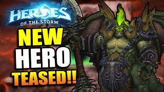 New Hero Teased!! // Heroes of the Storm