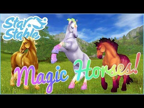 A New Herd of Magical Jorvik Horses!! 🐴✨ Star Stable Online